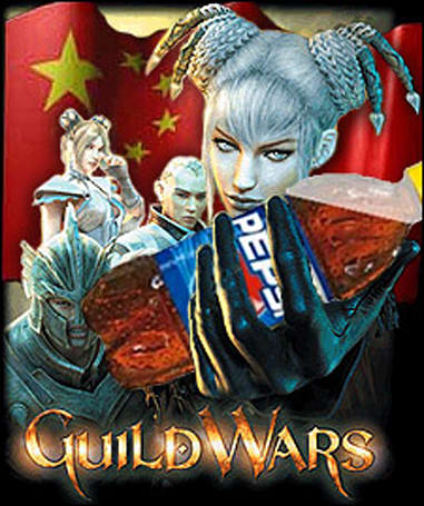 PepsiCo to sponsor Guild Wars in China