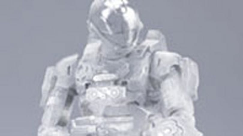 Active camouflage Spartan from McFarlane toys