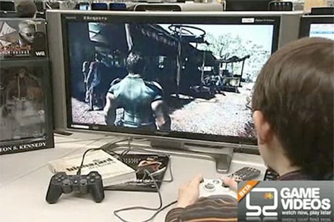 New (off-screen) Resident Evil 5 footage