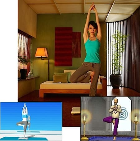 Wii Fit vs. Let's Yoga