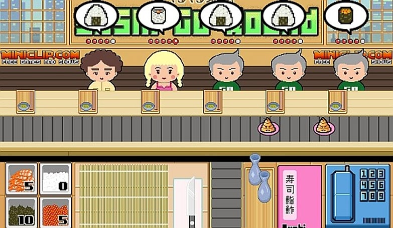Sushi Go Round coming to DS and Wii