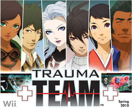 Atlus opens up old wounds with Trauma Team for Wii