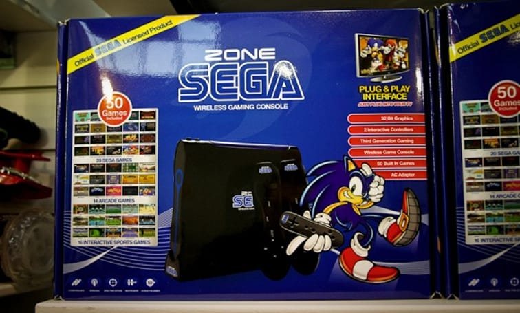 If a Genesis and a Wii had a baby, it would be Sega Zone
