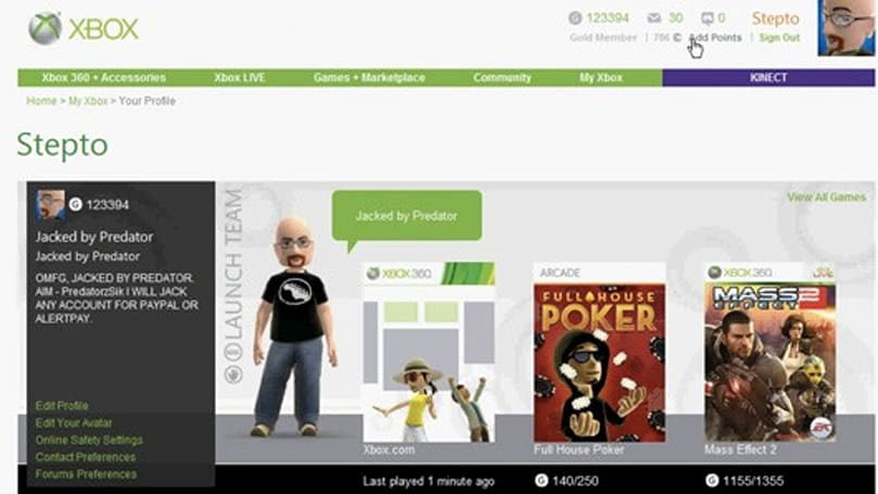 Xbox Live hacker: 'All accounts are open' to attacks [update]