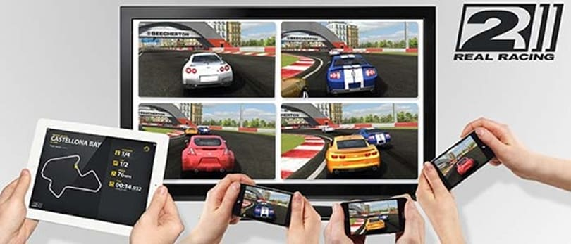 Real Racing 2 update adds four-player AirPlay streaming