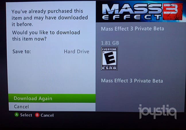 Mass Effect 3 Private Beta live now for some Xbox Live users (Update: more pictures, more users)