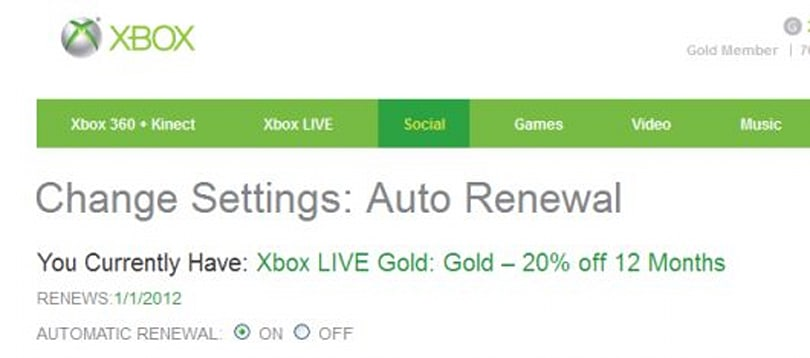 Xbox.com update is live, features Beacons and local Auto Renewal options