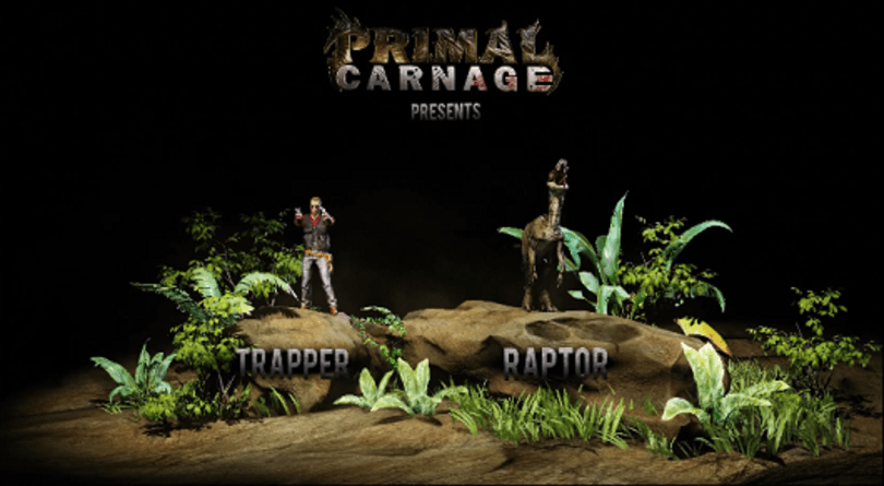 Primal Carnage shows off its raptors and trappers