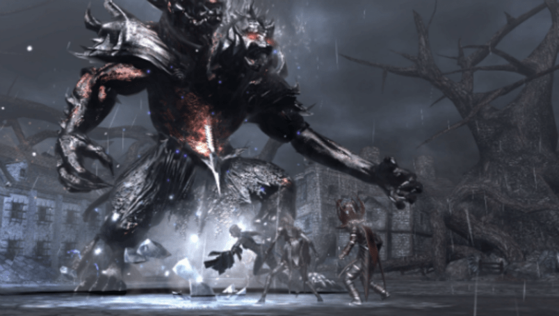 Summoning monsters as a plant-based wizard in Soul Sacrifice