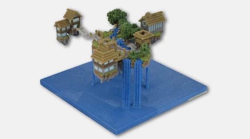 FigurePrints now immortalizing your Minecraft world with real-world replicas