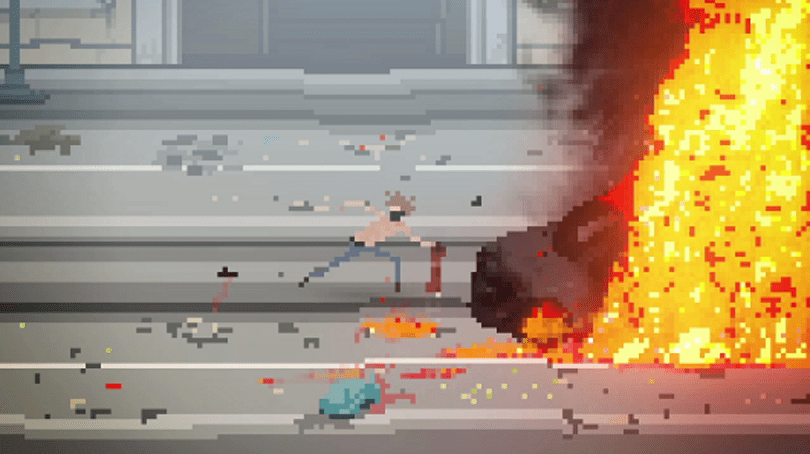 Riot in the streets, at a desk, in your hand: An indie documentary game