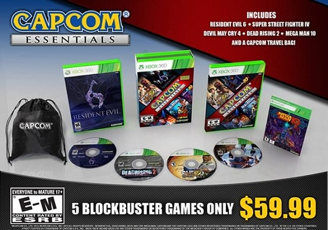 PSA: Five-game Capcom Essentials bundle now available