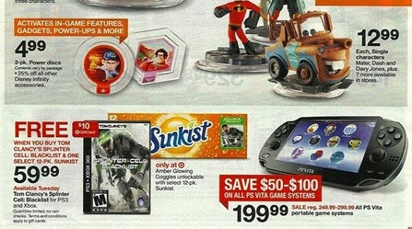 Rumor: Leaked Target ad shows Vita for $200