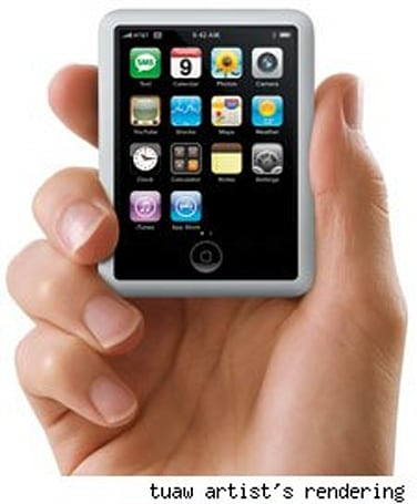 Daily Mail claims iPhone nano ready for Christmas, the rest of us laugh