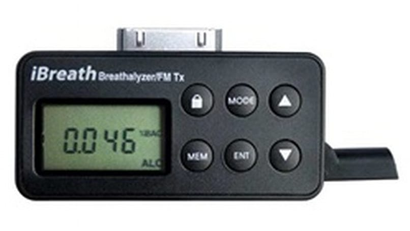 iBreathalyzer is, yes, a breathalyzer for your iPod
