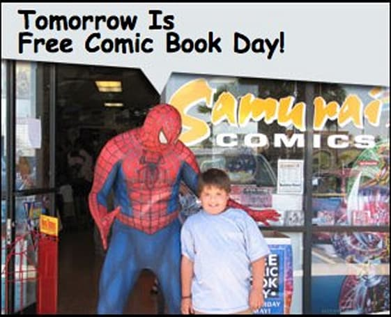 Free Comic Book Day is coming: how your iPhone can help