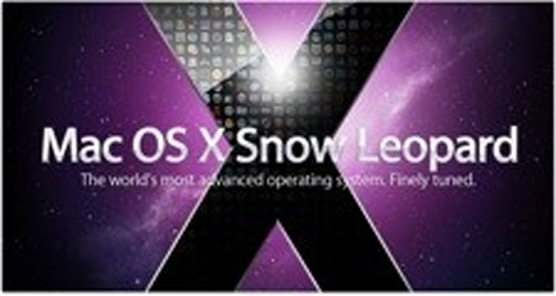 TwitPic Find: Snow Leopard on a hackint0sh