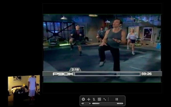 Getting in shape with iChat Theater