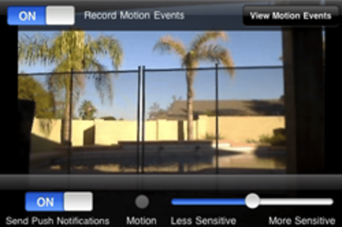 iCam updated, now records video when motion is detected