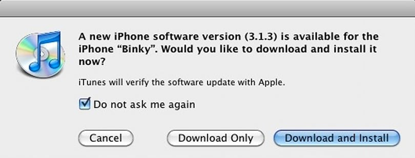 TUAW How To: Downgrading your 3.1.3 iPhone to 3.1.2