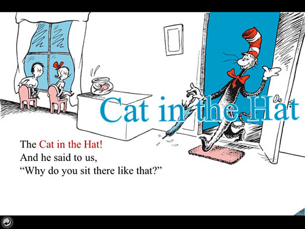 Dr. Seuss iPhone apps get supersized for the iPad