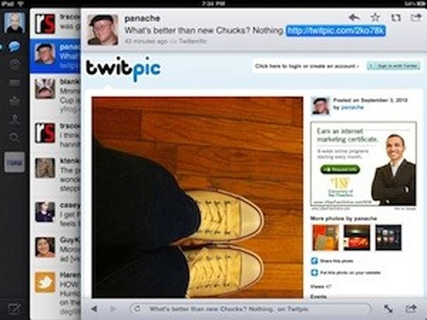 TUAW Review: Twitter for iPad