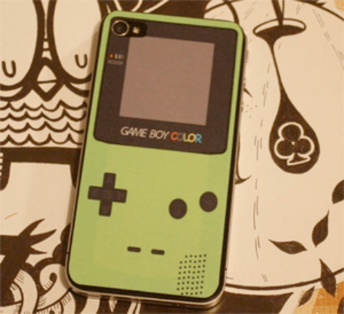 Game Boy decals for your iPhone 4
