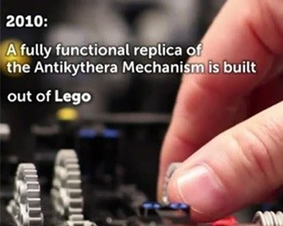 Apple engineer re-creates Greek computer with LEGOs