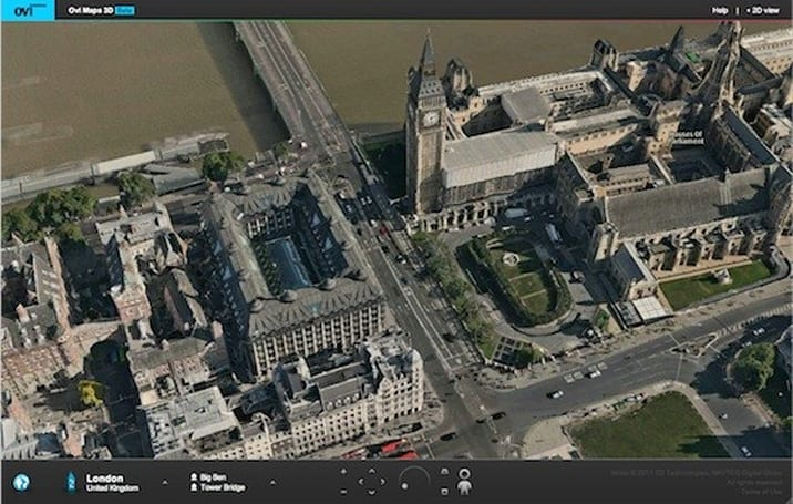 Nokia releases Ovi Maps 3D beta plug-in for Safari