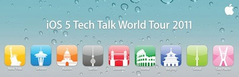 Apple announces iOS 5 Tech Talk World Tour 2011