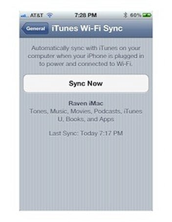 iOS 5 features: Wi-Fi Sync (Updated)