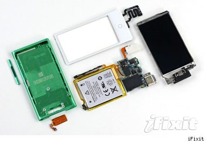 iFixit opens up the new iPod nano