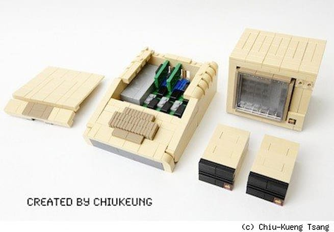 Lego Apple II is gorgeous