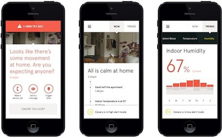 Indiegogo project Canary monitors your home