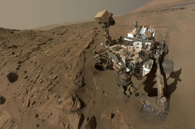 Curiosity rover finds gas levels on Mars hinting at possibility of life