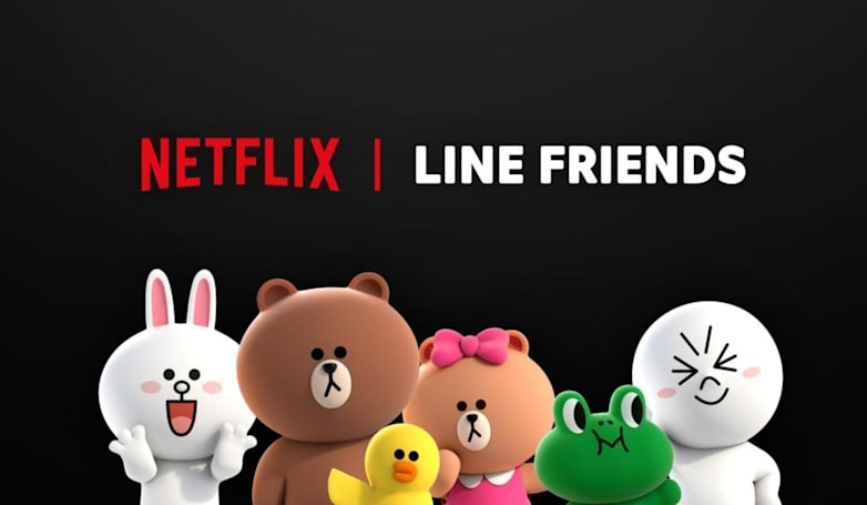 Netflix is giving Line's cute mascots their own animated series