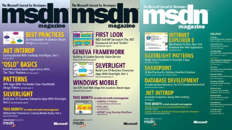 Microsoft is closing its long-running MSDN developer magazine