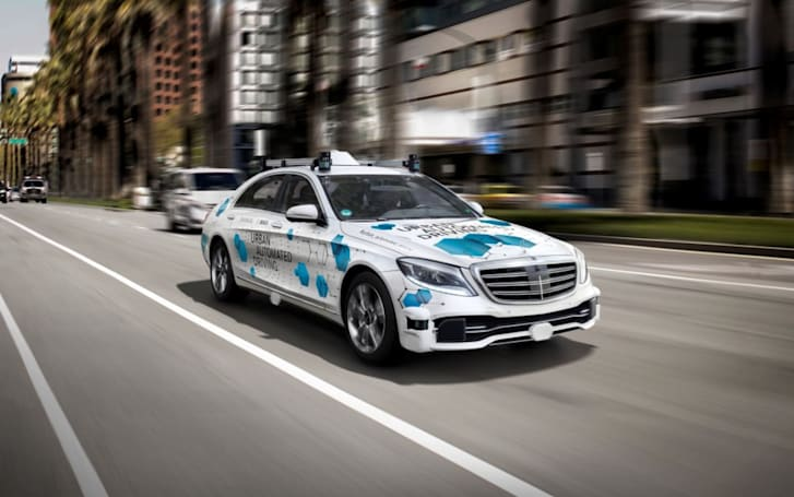 Daimler and Bosch pick San Jose for autonomous taxi trial