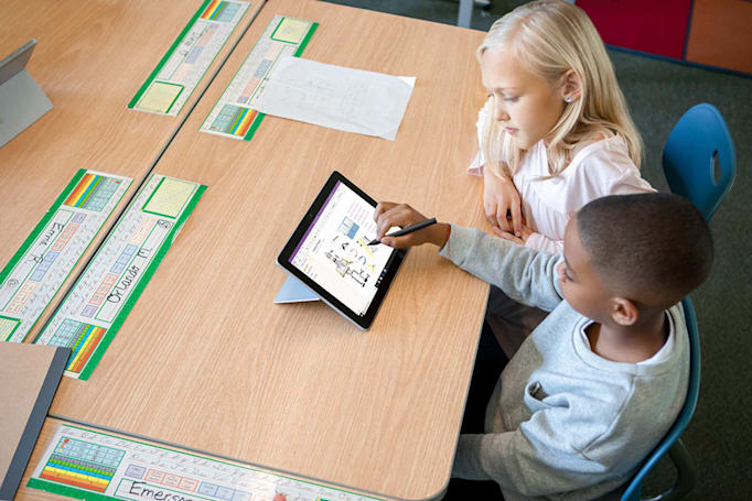 Microsoft's Classroom Pen is a smaller Surface Go stylus for kids