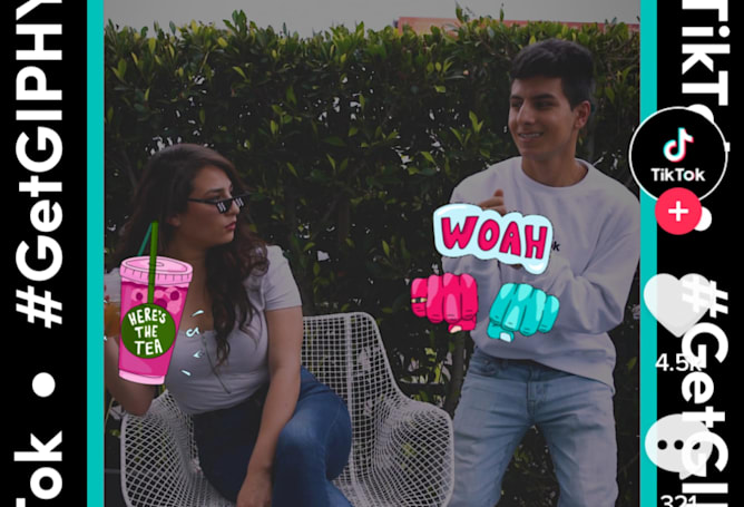 Giphy is bringing GIF stickers to TikTok