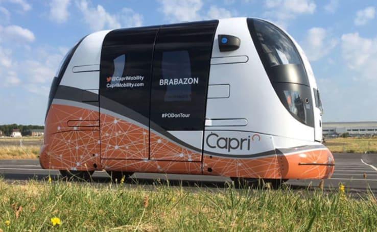 UK begins testing unsupervised autonomous transport pods