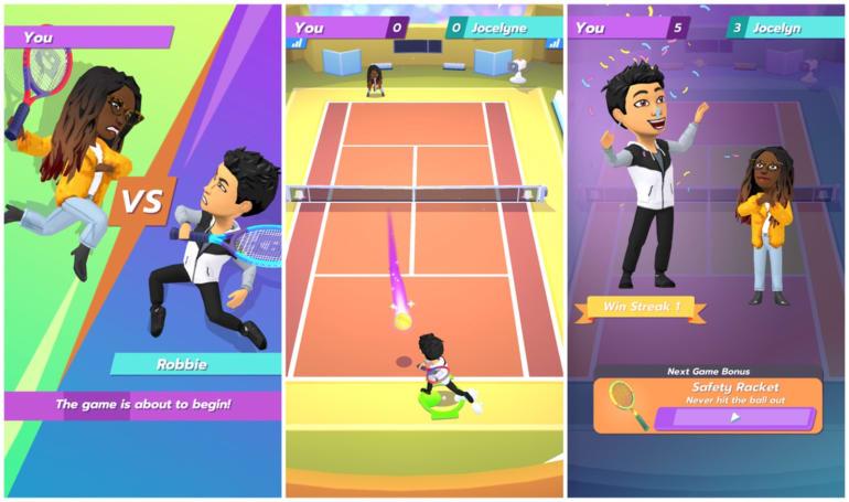 Snapchat made a Bitmoji tennis game to celebrate Wimbledon