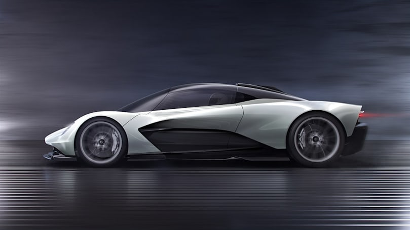 Aston Martin's futuristic hypercar uses your smartphone as its touchscreen
