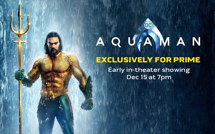 Amazon Prime members can watch 'Aquaman' a week early