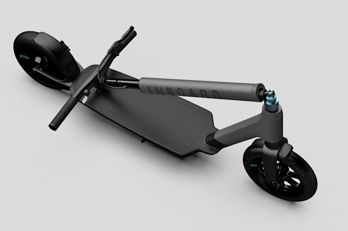 Inboard's electric scooters will only be available for shared fleets