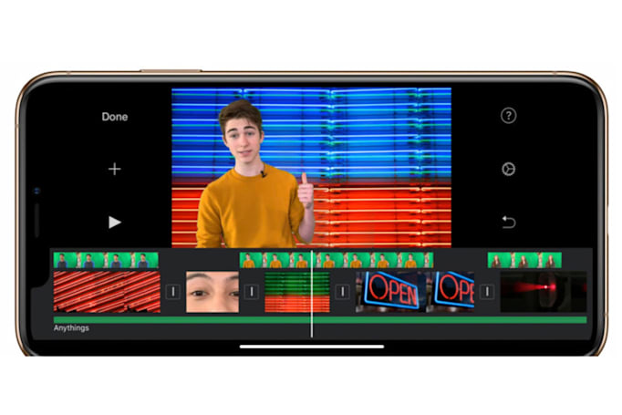 Apple's big iMovie iOS update includes green screen and more