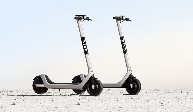 Bird's latest rideshare scooter is designed to thwart vandals