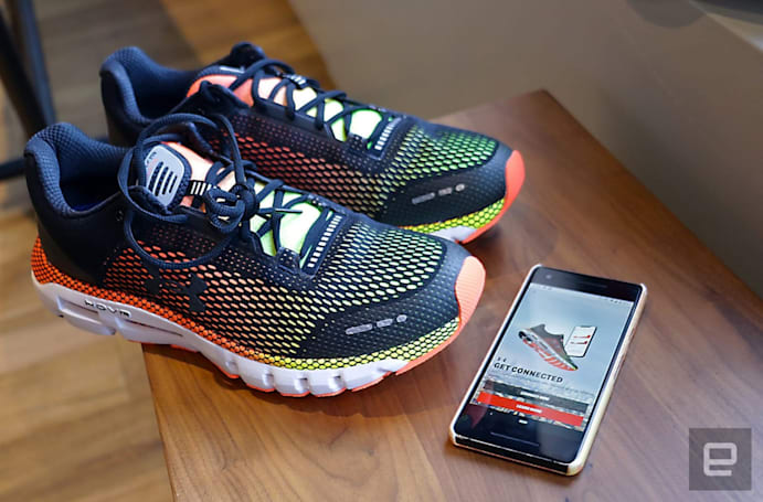 Under Armour's HOVR connected shoes aim to make you a smarter runner