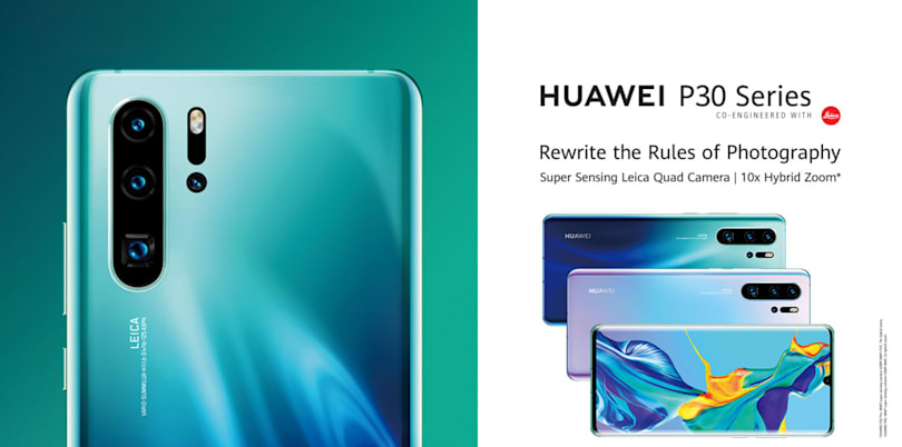 Huawei unveiled the P30 Pro smartphone a touch early