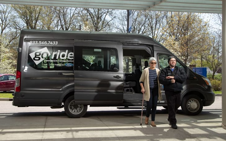 Ford GoRide Health shifts to autonomy and shuts down in five cities